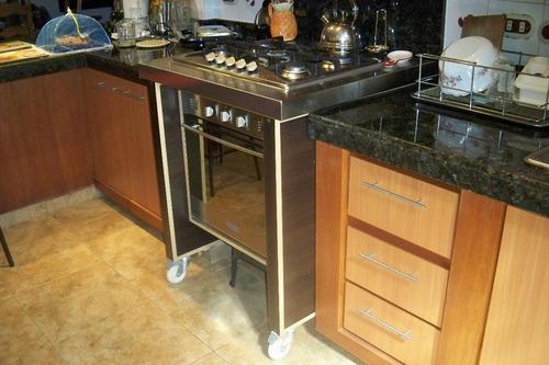 Mueble de cocina en melamina o cedrillo bs tn5tg for Muebles de cocina y precios