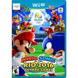 Mario & Sonic Rio 2016. Wii U / Descarga En Puerto Ordaz