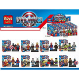 Itoys Civil War Avengers Compatible Con Lego 4,5 Cms En Caja