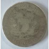 Colección De Monedas Fuertes De Plata Venezolanas