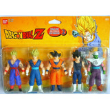 Figuras Dragon Ball Z Original Set 5 Muñecos Goku Juguete