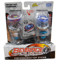 Beyblade Punta Metalica 2 En 1 Turbo Tops