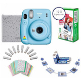Camara Instantánea Fujifilm Instax Mini 11 Estuche, 10 Fotos