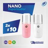 Spray Nano Vaporizador Sanitizante Humificador Desinfectante