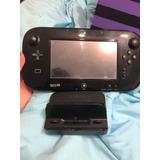 Wii U Negro 32 Gb +  Control Wiimote + 4 Juegos