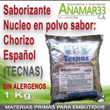 Núcleo Saborizante En Polvo Para Embutidos, Chorizo Español.