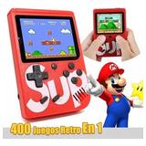 Nintendo Sup Portatil 400 Juegos Retro Video Game Ccct