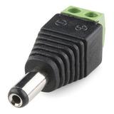 Conector Dc Macho Plug Corriente Vdc Camara Seguridad Cctv