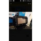 Nintendo Wii U Con Dos Juegos Físicos Y Dos De Chipiado