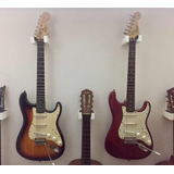 Vendo Guitarra Fender Squier Stratocaster C/ Forro Y Tremolo