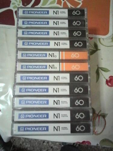 Cassettes Pioneer Para Regrabar