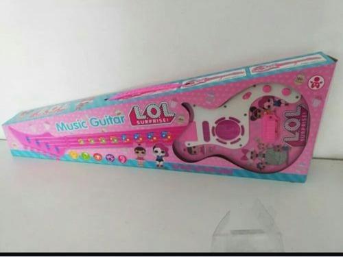 Guitarra Lol Soy Luna Frozen Juguete Niñas