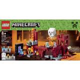 Lego Minecraft 21122 La Fortaleza Del Infierno 571pz (80usd)