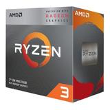 Procesador Amd Ryzen 3 3200g 4.0ghz 6mb 4 Core 4 Thread