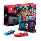Nintendo Switch Consola Nuevas+juego Mario Kart 8 De Luxe