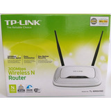 Router Wifi Tp-link Tl-wr841nd 300 Mbps Qos Wds 4 Puertos
