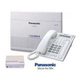 Con 6 Lineas Y 16 Extensiones Central Telefónica Panasonic