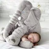 Elefante Almohada Abrazadora Bebe 60cm Relajante Cojín Madre