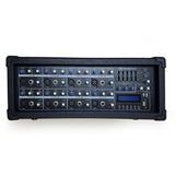 Consola Mezclador Amplificado Soundbarrier Sb8408 Mp3