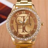 Reloj Para Damas Carolina Herrera Dorado Ch