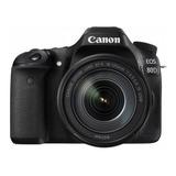 Cámara Digital Canon Eos 80d Lente 18-135mm Todocanon 1.273d