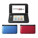 Consola Nintendo 3ds Xl Original Nueva Sellada Rojo Azul