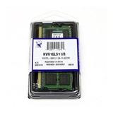 Memoria Laptop 8gb Ddr3l Pc3l-12800 Kingston Low Volt 1.35v