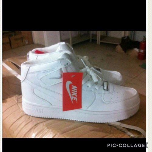 brand new be6c0 00a10 Botines Nike Air Force One Originales     Talla 40