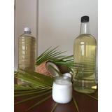 Aceite De Coco Virgen Puro Artesanal 100 % Natural 1 Litro