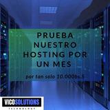 Web Hosting Y Dominio, Cpanel Espacio Ilimitado X Mes