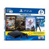 Playstation 4 Slim 1tb Con 3 Juegos+ Control Adicional 295*