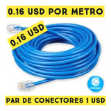 Cable Utp Internet Por Metro Cat5e