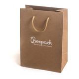 Bolsas De Papel Personalizadas - Tipo Boutique X 5