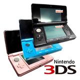 Nintendo 3ds, Original, Con Juegos 3d, Memoria Sd, Cargador.