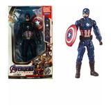 Muñeco Advanger Capitán América Cod. 104a
