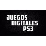 Ps3 Juegos Digitales Originales Somos Tienda Fisica