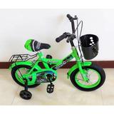 Bicicleta Rin 12 Varón Niño. Cap América Y Hulk.