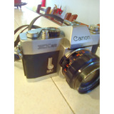 Camara Canon Exauto 50mm Vintage