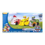 Paw Patrol 3pk Rescue Racers Marshall Rubble Rocky Original