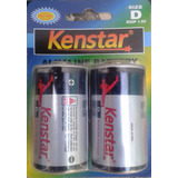 Pila  Batería Alkalina Tipo D 1.5 V   Marca: Kenstar
