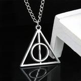 Colgante Collar Harry Potter Reliquias De La Muerte Unisex