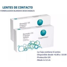Lentes De Contacto Biomedics Formulados Blandos Uv