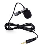 Micrófono Balita Lavalier Cable 1,5m Tipo C Lightning 3.5 Mm
