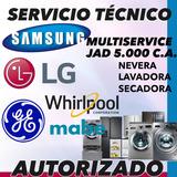 Servicio Tecnico Samsung Whirlpool Lg Mabe Ge Bosch Nevera