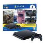 Playstation 4 +3 Juegos Fisicos + 3 Meses Plus Nuevo 390vrds