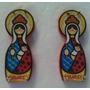 Porta Llaves De Madera Virgen De La Chinita