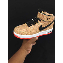 sale retailer 8c73e a5f8b Zapato Nike Air Force One Corcho Y Normales