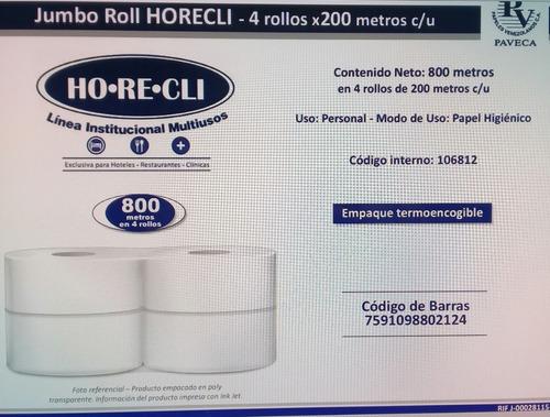 Rollo 9 Pulgadas Papel Industrial 4 Rollos 95mil Al Mayor