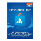 Playstation Psn Card 10