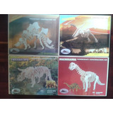 Dinosaurios Armables, De Madera
